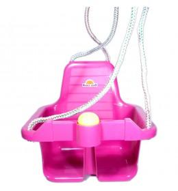 Ljuljaška za decu sa trubicom roze