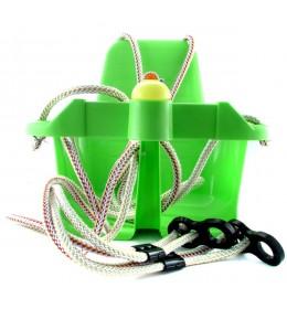 Ljuljaška za decu sa trubicom zelena