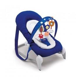 Ležaljka ljuljaška za bebe Chicco Hoopla deep blue