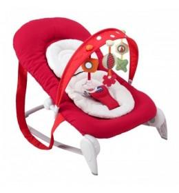 Ležaljka ljuljaška za bebe Chicco Hoopla crvena