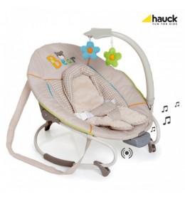 Ležaljka ljuljaška za bebe Hauck Leisure E-Motion Bear