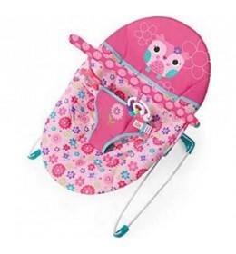 Ležaljka ljuljaška za bebe Happy Flowers