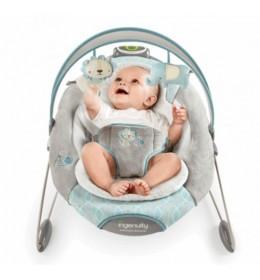 Ležaljka ljuljaška za bebe Ingenuity Smart Bounce Cambridgeids