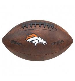 Lopta za američki fudbal Wilson NFL JR Throwback Denver Broncos