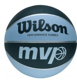 Lopta za košarku Wilson MVP Blu/Bla X5358