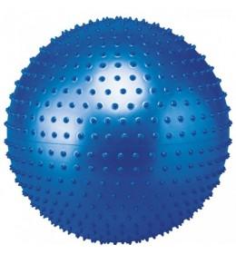 Lopta za pilates masirajuća 65cm BB-003 plava
