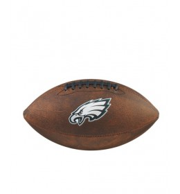 Lopta za ragbi NFL Philadelphia Eagles Junior Wilson Throwback WTF1539XBPH