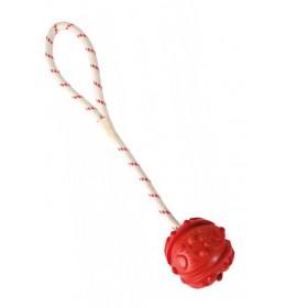 Loptica na kanapu crvena 7/35 cm