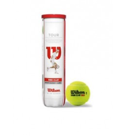 Loptice za tenis Wilson TOUR CLAY RED 4 BALL
