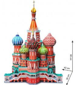Maketa hram Vasilija Blaženog 3D