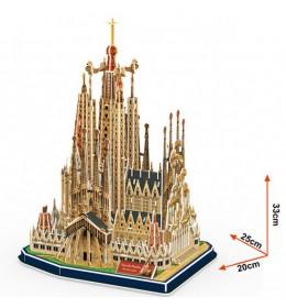 Maketa Sagrada Familia SPA  3D