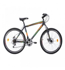 Maountin Bike MAGNUM 26in 21 siva-zelena-narandžasta