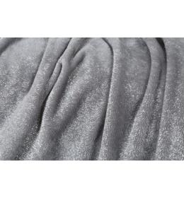 Mekano svetlucavo ćebe sivo