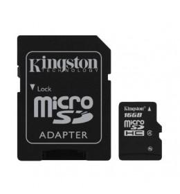 Memorijska kartica sa adapterom 16GB mSd-16GB/CL4+Ad/King