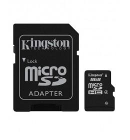 Memorijska kartica sa adapterom 8GB mSd-8GB/CL4+Ad/King