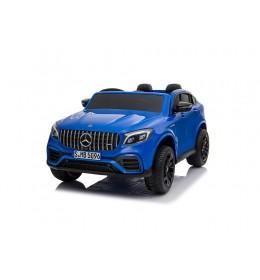 Mercedes Licenciran Dvosed 4x4 model 311/1 sa kožnim sedištima i mekim gumama Metalik plavi