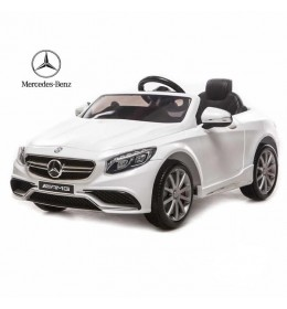 Automobil na akumulator Mercedes SL 65 licencirani beli