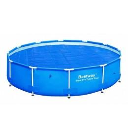 Prekrivači za metalne bazene, solarni 366cm