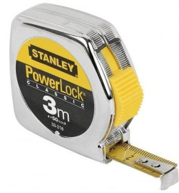 Metar Stanley Powerlock metal 3m