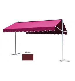 Mobilna aluminijumska tenda 400x300 bordo