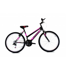 Mountain Bike Adria Bonita Mtb 26 Crna i Roza 19