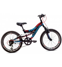 Mountain Bike CTX 200 20 Crna i Crvena 11