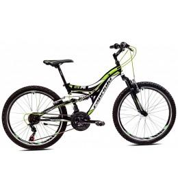 Mountain Bike CTX 240 24 Crna i Zelena 15
