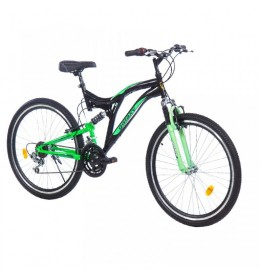Mountin bike Factor 600 26in 18 crna-zelena