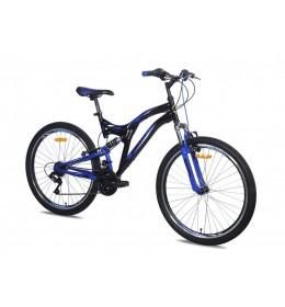 Mountin bike Galaxy Factor 600 26in 18 crno plavi