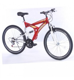 Mountin Bike TAURUS 26in 18 crveno-bela