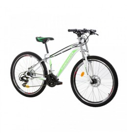 Moutin Bike X-Caliber 26in 21 bela-neon zelena