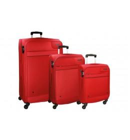 Movom Bronx set od tri kofera 55/ 67/ 76 cm red 53.594.54
