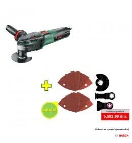 Multifunkcionalni alat Bosch PMF 350 CES + 13-delni univerzalni PMF set