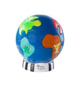 Muzička Igračka-noćno svetlo discovery globe