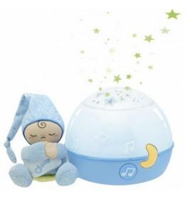 Muzički lampa projektor Uspavane zvezde Chicco plavi