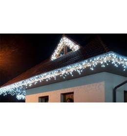 Nadogradive novogodišnje LED lampice 4m x 0.5m 152L Icicle za unutrašnju i spoljnu upotrebu