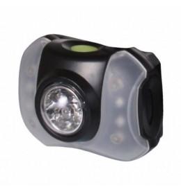 Naglavna lampa 5 + 4 LED HLP5+4L