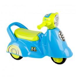Glory Bike guralica dečija vespa plava