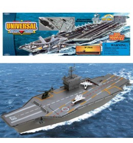 Nosač aviona Aircraft carrier w 3 metal fig