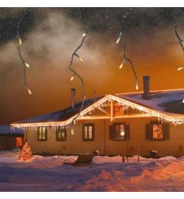 KDL Novogodišnja LED svetleća zavesa 3m za spoljašnju i unutrašnju upotrebu
