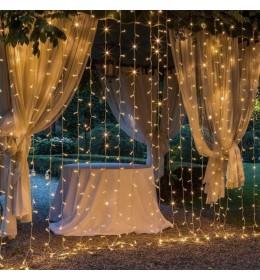 Novogodišnja LED zavesa 1x2m