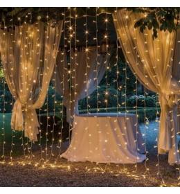 Novogodišnja LED zavesa 1x4m