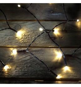 Novogodišnja LED zavesa toplo bela 1,5x1,5m