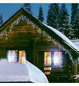 Novogodišnja rasveta LED svetleća mreža 2x0.9m toplo bela