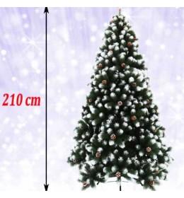 Gusta novogodišnja jelka Tirol Pine 210 cm