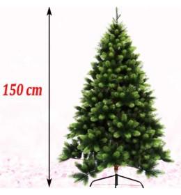 Gusta novogodišnja jelka Polymix 150 cm