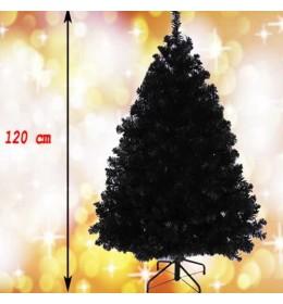 Crna novogodišnja jelka Wonder Black 120 cm