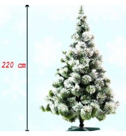Novogodišnja jelka Frozen 220 cm