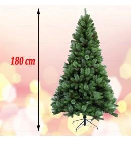 Gusta novogodišnja jelka sa crvenim bobicama Cashmere 180 cm