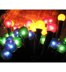 Novogodišnje lampice Pearl multikolor 35 komada